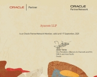 Oracle PartnerNetwork Member